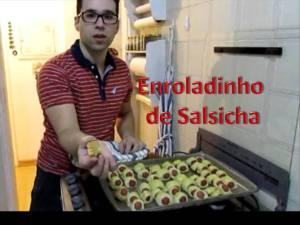 enroladinho de salsicha